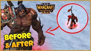 Horde Units - Side by Side Comparison | Warcraft 3 Reforged In-game Preview