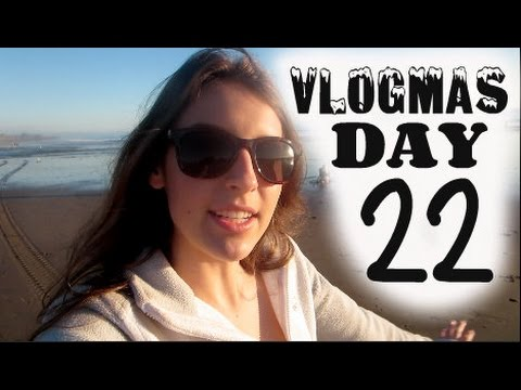 And I Like Long Walks on the Beach Vlogmas 22, 2014 - YouTube