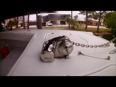 Fixing Lewmar Pro Fish Windlass That Won't Retrieve After Freefall