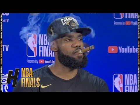 LeBron James Postgame Interview - Game 6   Heat vs Lakers   October 11, 2020 NBA Finals