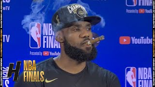 LeBron James Postgame Interview - Game 6 | Heat vs Lakers | October 11, 2020 NBA Finals
