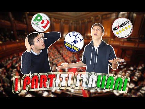 I PARTITI ITALIANI spiegati facile | 4 MINUTI per capire la politica | PT. 1
