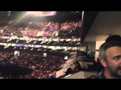 360 degree of O2 Arena VIP box - Depeche Mode May2013