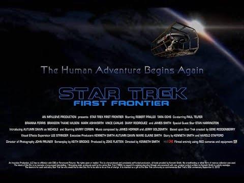 FanMovie StarTrek FirstFrontier Trailer #1 2017 First USS Enterprise