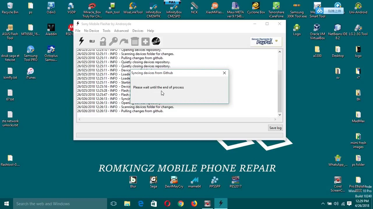 how to solve ftf firmware files not detected by xperia flashtool