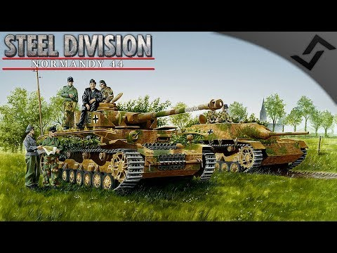 Armored Support! German Campaign Mission 3 - Steel Division: Normandy 44