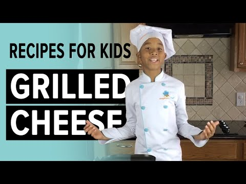 Super Easy, Super Quick Grilled Cheese Sandwich | Step Stool Chef