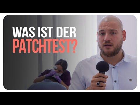 Haarpigmentierung Deutschland: Was ist der Patchtest❓