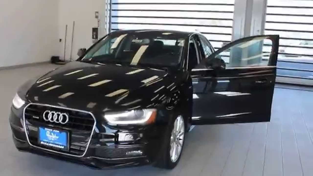 Audi A3 Vs A4 >> 2015 Audi A4, Mythos Black Metallic - STOCK# 110330 - Walk around - YouTube