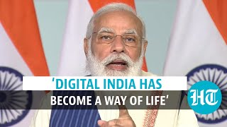 'Technology First' is Centre's governance model: PM Modi hails Digital India