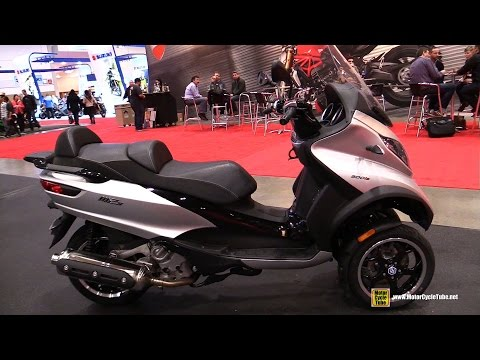 2016 Piaggio MP3 500 Three Wheel Scooter - Walkaround - 2016 Toronto Motorcycle Show