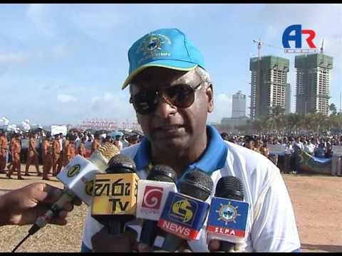 Walk of  SriLanka Port Authority workers