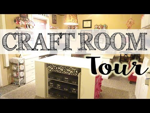 BIG Craft Room Tour | Studio Tour