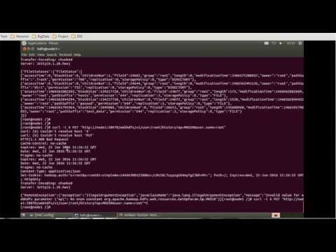 12  Hadoop Administration Tutorial - Introduction to WebHDFS API