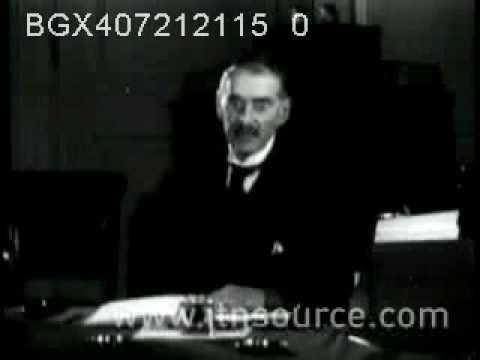 Neville Chamberlain's budget speech 1936