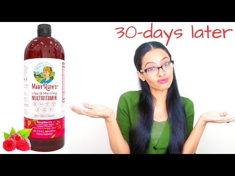 30 DAYS of Mary Ruth's Morning Liquid Multi-Vitamin  | KayNaturals