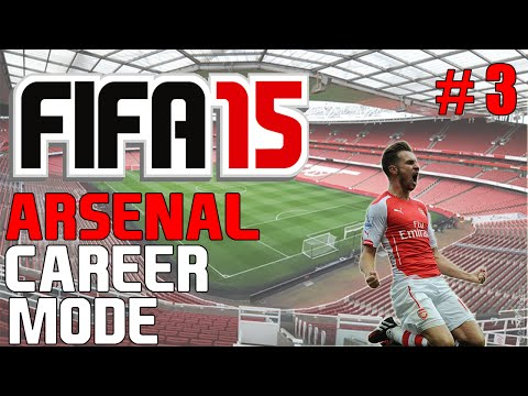 Arsenal Career Mode | S1 E3 | Premier League KICK OFF! (FIFA 15 Career Mode)