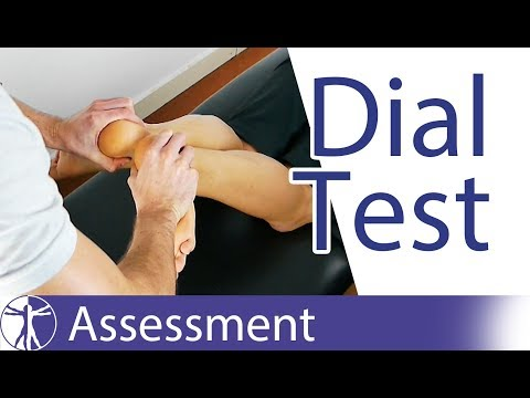 Dial Test / Loomer Test | Posterolateral Rotatory Instability of the Knee
