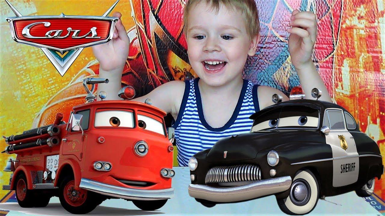 Распаковка и обзор машинок тачки игрушки трансформеры для мальчиков видео про машинки для детей