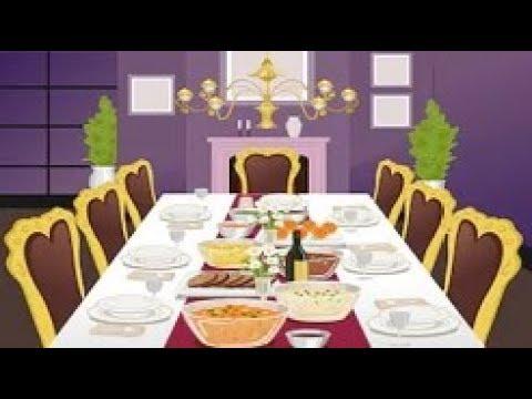 قاموس-عربي-/-انجليزي---غرفة-الطعام-dining-room