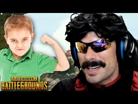 DrDisRespect dies by THE WORST PUBG PLAYER EVER [FULL GAME]