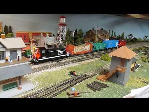 A short Grand Trunk Western Railroad local.