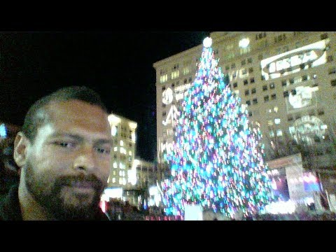 Video 2. Duclairon's Sermon and Portland's 2017 Tree Lighting Ceremony - Nov. 24, 2017