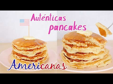 Auténticas PANCAKES o TORTITAS AMERICANAS | Súper esponjosas! | La Dulce Eva