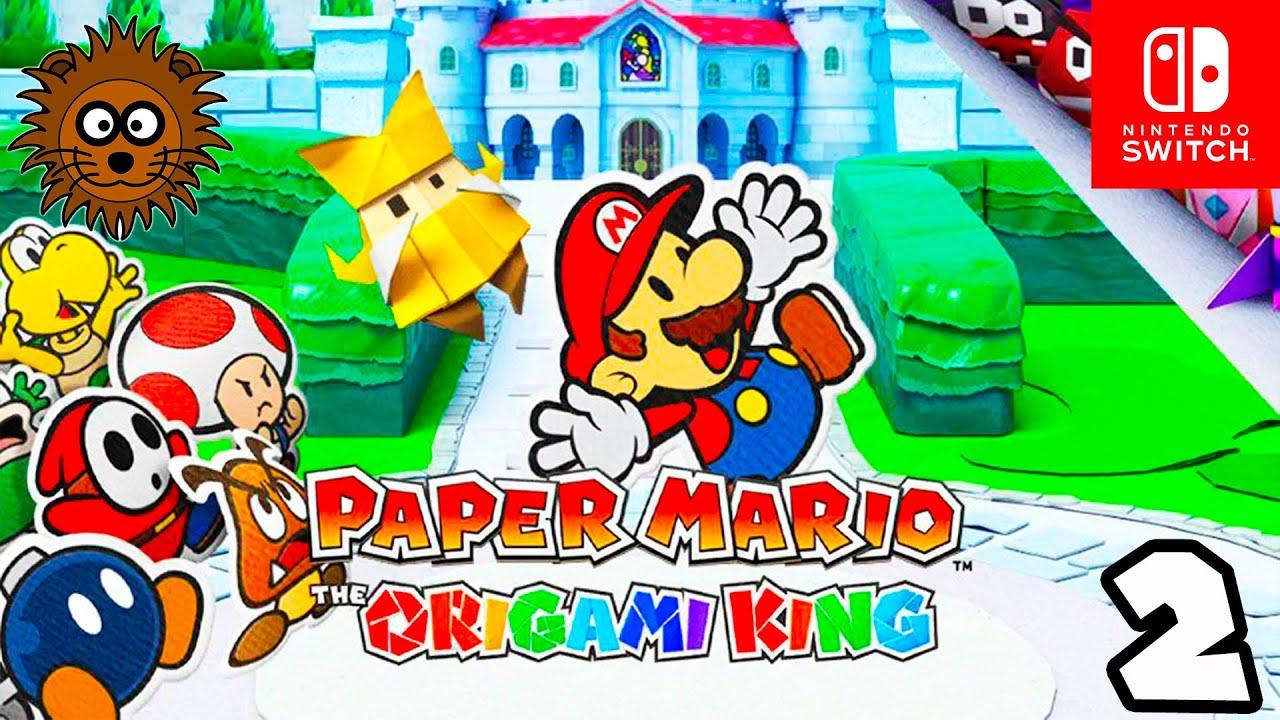 PAPER MARIO El Rey del Origami #2 - Vídeos de Juegos de Super Mario Bros - Nintendo Switch