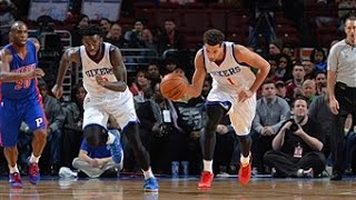 Michael Carter Williams Scores Triple-Double in 76ers Victory