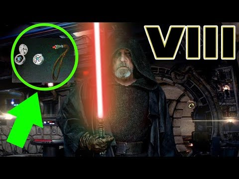 Download Youtube: Luke's RED Kyber Crystal Revealed - Star Wars The Last Jedi Explained