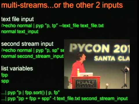 The Pyed Piper: A Modern Python Alternative to awk, sed and Other Unix Text Manipulation Utilities