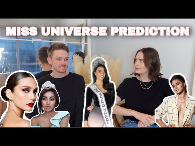 MISS UNIVERSE PREDICTIONS (December Edition)