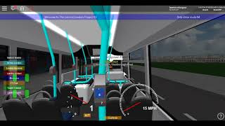 Roblox The Central London Project V1 (WIP) E200MMC London United RATP on Route 72 *Shepherd Bush*