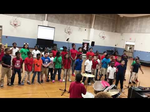 """My Shot"" from Hamilton performed by Lockheed Elementary School"