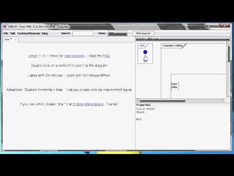 UMLet - Free UML Tools for fast UML diagrams