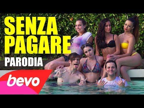 PARODIA SENZA PAGARE - J-Ax & Fedez - iPantellas