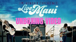 Jimi Hendrix Live In Maui Vinyl Unboxing Video