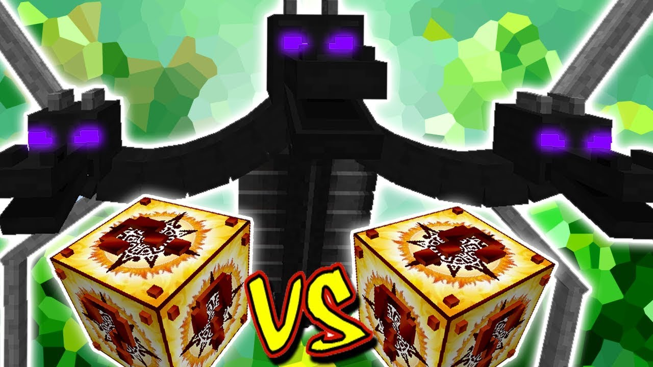 Dragao Wither Vs Lucky Block Inca Minecraft Lucky Block