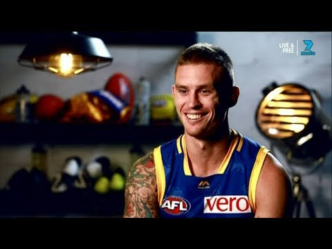 Dayne Beams on his first game