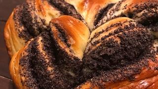 Пирог с маком - рецепт вкусной выпечки