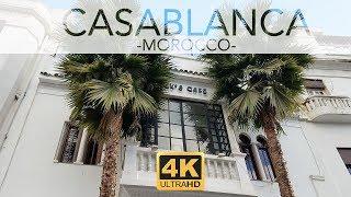 Casablanca - Morocco Tourist Attractions 4k