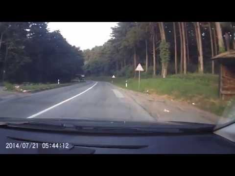 go to Ulcinj (Serbia and Montenegro on the road 21) road movie