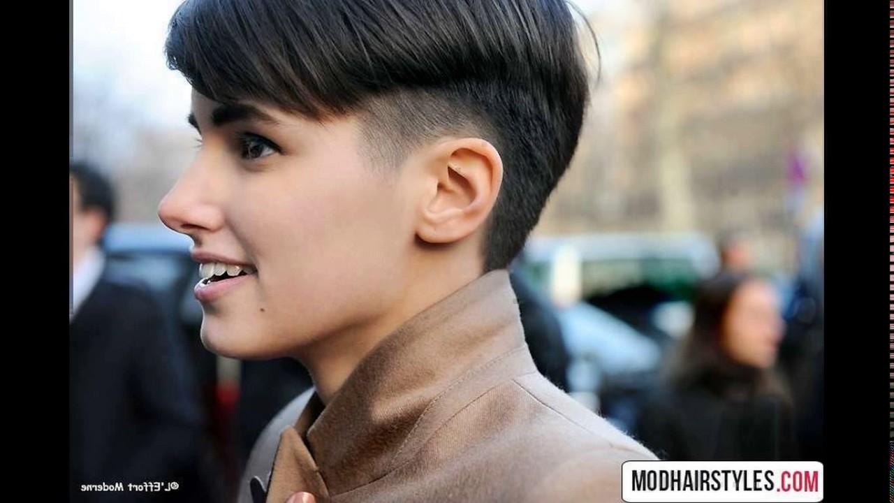 Short Boyish Haircuts Youtube