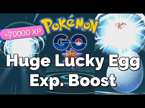 Huge Exp. Boost (70,000+) - Pokemon GO Lucky Egg Trick