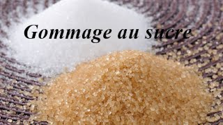 gommage sucre huile d'olive