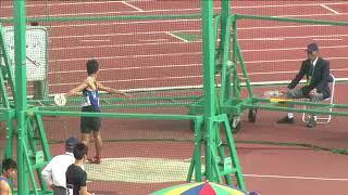 第43回ジュニアオリンピック ABC男子共通 円盤投