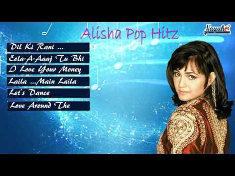 Alisha Chinai Pop Hitz || Alisha Chinai indian Pop Queen || Dil Ki Raani