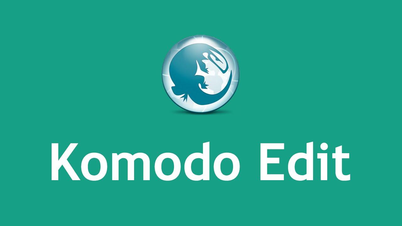 Komodo edit tutorial youtube.