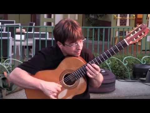 David Wayne Amazing Acoustic Guitar Performance! Malaguena